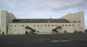 Alaska Airlines Hangar Roof