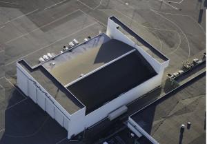 Alaska Airlines Hangar Roof
